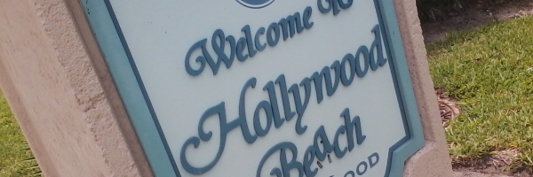 Welcome to Hollywood Beach